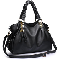 2014 women's spring handbag autumn and winter tassel handbag messenger bag fashion all-match bag