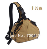 Shoulder Camera Bag Protector Cover Case Portable diagonal Triangle Carry Case Free Shipping