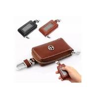Free shipping T-o-y-o-t-a Reiz Crown rav4 leather key cases Hanlandaya force Shikai T-o-y-o-t-a Camry car key sets