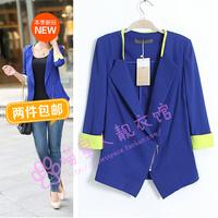 2014 female blazer outerwear woolen female suit blazer jacket outerwear female