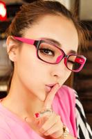Free shipping 2013 multicolour decoration glasses Women non-mainstream eyes box myopia eyeglasses frame