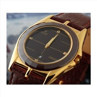 Watch male ultra-thin ceramic ring strap belt commercial male watch quality mens watch