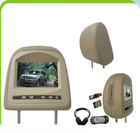 Car headrest monitor with hdmi input with MP5 Fit for Toyota Cruiser