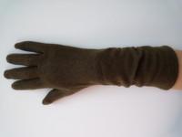 2014 spring women's cashmere gloves elastic medium arm sleeve thermal elegant