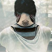 Temporary tattoo tattoo stickers personality lovers design tattoo sticker waterproof size 2