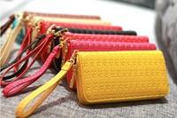 New arrival skull design women's long zipper wallet women's wallet clutch women's wallet