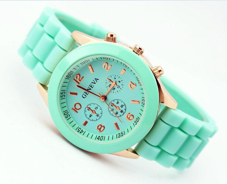 Hot Sale women's fashion watches brand jelly silicone quartz wristwatches Women Men 15 colors sports wristwatch Free Shipping(China (Mainland))