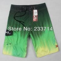 Free shipping 2014 surf shorts men bermuda aussie swimwear boardshorts quiksliver billabong shorts beach surfing swimming trunks