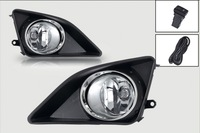 Fog light for Toyota COROLLA  2008-2011 clear Front Driving Lamps +Wiring Kit shipping free
