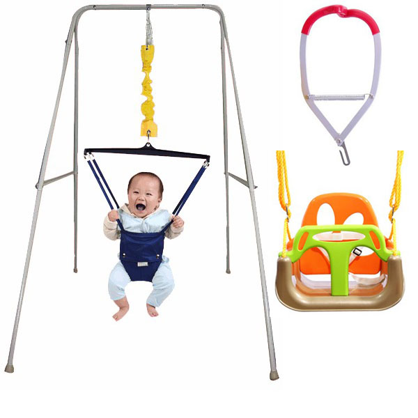 Metal Baby Swing with Frame