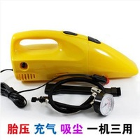Car vacuum cleaner inflatable pump super high power suction vehienlar family car vacuum cleaner wet and dry
