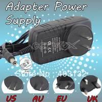 US/AU/EU/UK plug Single POWER SUPPLY  for SECURITY CAMERAS PS02
