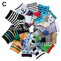 FREE SHIPPING 1117 hot-selling  1-3 years boys socks cotton baby socks  rubber slip-resistant floor socks non-slip kid's socks