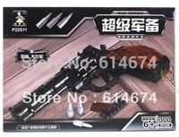 gun toy brick 300pcs Building block / hot sell item/ good gift for kids/gun toy/Revolver--only 1$ shipping fee