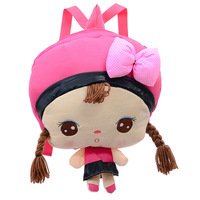 Angela plush doll child cartoon student school bag male backpack