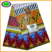 2014100% pure cotton printed fabric african wax print super real wax ankara print fabric hollandais wax B2005