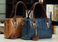 Promotion Fashion WEIDIPOLO Genuine Leather handbag women  Shoulder Bag designer brand messenger bag free shipping P57