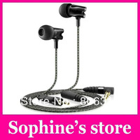 EMS/DHL Free shipping 2014 IE800 in-ear headphones mp3 sport earphone stereo metal bass portable with retail box