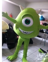 Hot sale! MIKE MONSTER INC SULLY Mascot Costume, Advertising Costume,Cartoon Costume for sale Animal carnival free shipping