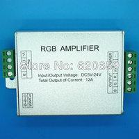 12A LED RGB Amplifier, DC12-24V Input, 144W / 288W for SMD3528 SMD5050LED RGB Strip