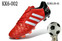 2013 6 kaka kangaroo skin tpu gel nails man genuine leather football shoes plastic Free Shipping