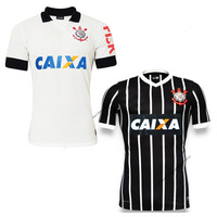 Corinthians home and away soccer jersey 2013/2014 grade original A+++ top thai quality corinthians jerseys 13/14 free shipping