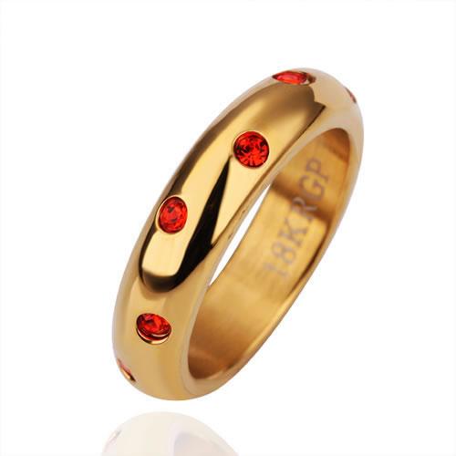 18 k золото позолоченными кольцом моды