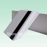 free shipping retail  Printing Magnetic strip Blank Card super quality , pvc blank inkjet card for epson / Canon inkjet Printer