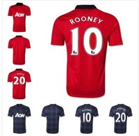 + + + best Thai quality 2013/2014 Wayne rooney jersey football robin van persie rooney jersey football jerseys free shipping