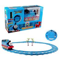 New arrival thomas the train remote control set electric remote control super large puzzle