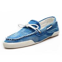 Autumn breathable men sailing shoes fashion men shoes loafers gommini nubuck leather