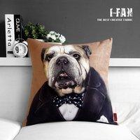 Creative cute cartoon dog IKEA Godfather Personalized Plush pillow cover pillow cushion cover sofa cushions  45cm*45cm