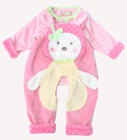 Atwah gilgal 2014 baby spring strawberry fairy clip suspenders clothes children set 26
