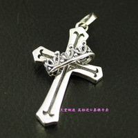 Justin davis cross pendant 925 pure silver pendants