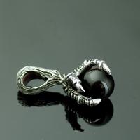 925 pure silver trachypenaeus silver pendants