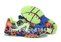 New 2014  Acics Gel-noosa TRI 8 camouflage sneaker men sport shoes for men running shoes