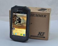 Hummer H5 IP68 dustproof waterproof Android4.0 WCDMA 3G Smart Phone Shockproof GPS 4inch sreen Unlocked outdoor cell phone
