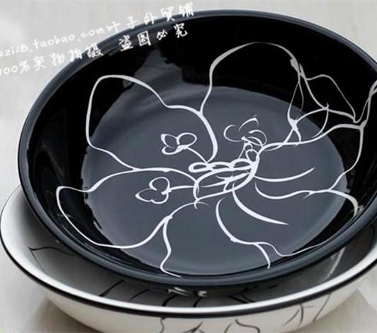Rustic ceramic tableware dish mug-up fruit plate ceramic disc(China (Mainland))