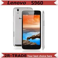Original  Lenovo S960  Vibe X phone   5 inch 2GB RAM 16GB ROM Quad Core 1.5GHz 13MP Android 4.2 Smart Phone 6.9mm Ultrathin