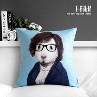 Creative IKEA Mediterranean style cartoon Pillow  Personalized Plush pillow cover pillow cushion cover sofa cushions  45cm*45cm