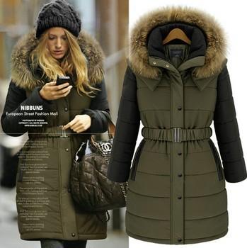Новая мода 2014 мех бренд Desigual долго ...