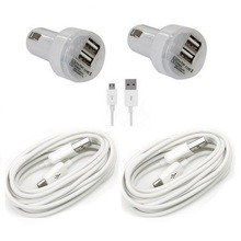 dual port usb car charger promotion