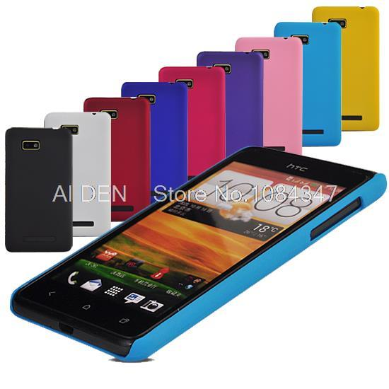 Matte Slim Hard Back Case Cover For HTC Desire 400 dual sim(China (Mainland))