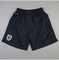Cheap Original Soccer Shorts 2013 14 England Home Mens Futebol Pants @ Embroidery Logo @ Dry Fit Wholesale By DHL for Free