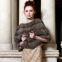 2013 mink fur coat fashion pullover batwing shirt mink coat