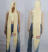 60 inch Hi_Temp Series Light Golden Blonde Extra Long Cosplay DNA Wigs
