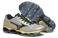 Mizuno 100% Original MizunoNew Arrival Men Wave Prophecy 3  Shoe, Athletic Running Shoes Free Shipping wave prophecy 3
