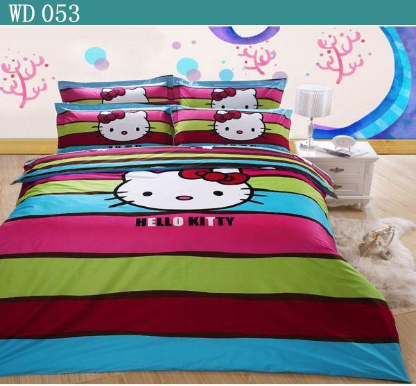 Online Get Cheap Hello Kitty Queen Bed Set