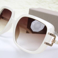 White jade fashion cutout sunglasses big box women's sunglasses fashion drivers glasses 2014 femlae sunglasses free shipping