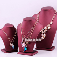 For nec  klace rack jewelry holder accessories rack pendant necklace holder props jewelry box princess PU portrait frame